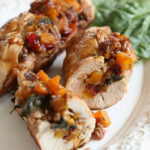 Butternut Stuffed Turkey Tenderloin With Cranberries And …