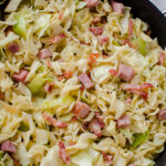 Cabbage & Noodles With Ham (Haluski)