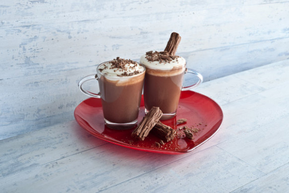 Cadbury Flake Hot Chocolate