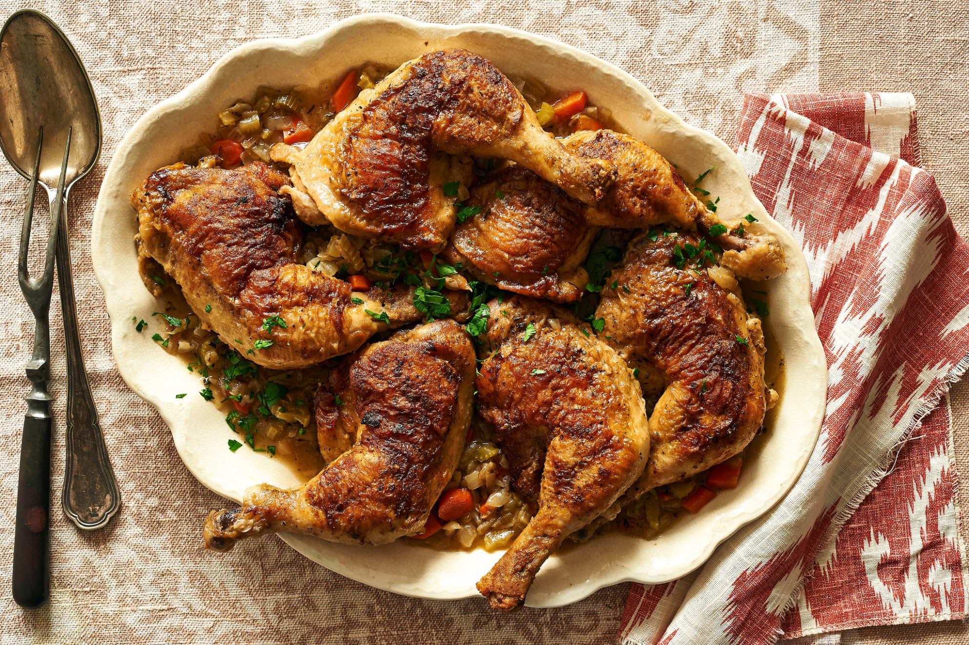 Cal Peternell's Braised Chicken Legs Recipe - NYT Cooking