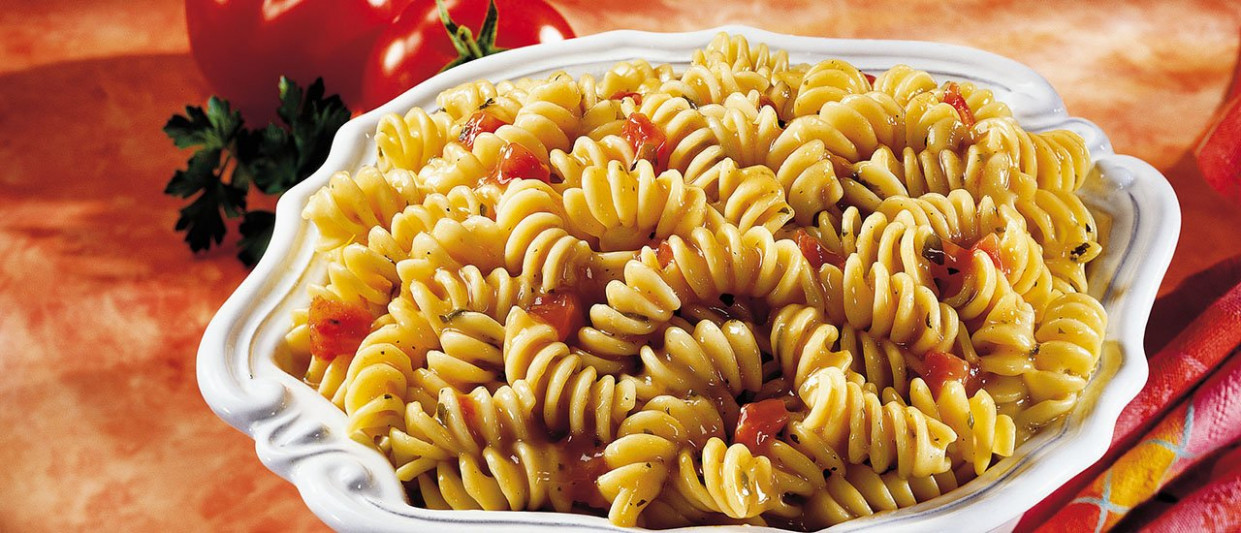 calories in 1 cup uncooked rotini pasta