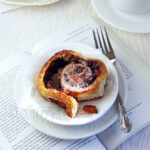 Caramelized Apple Cinnamon Roll