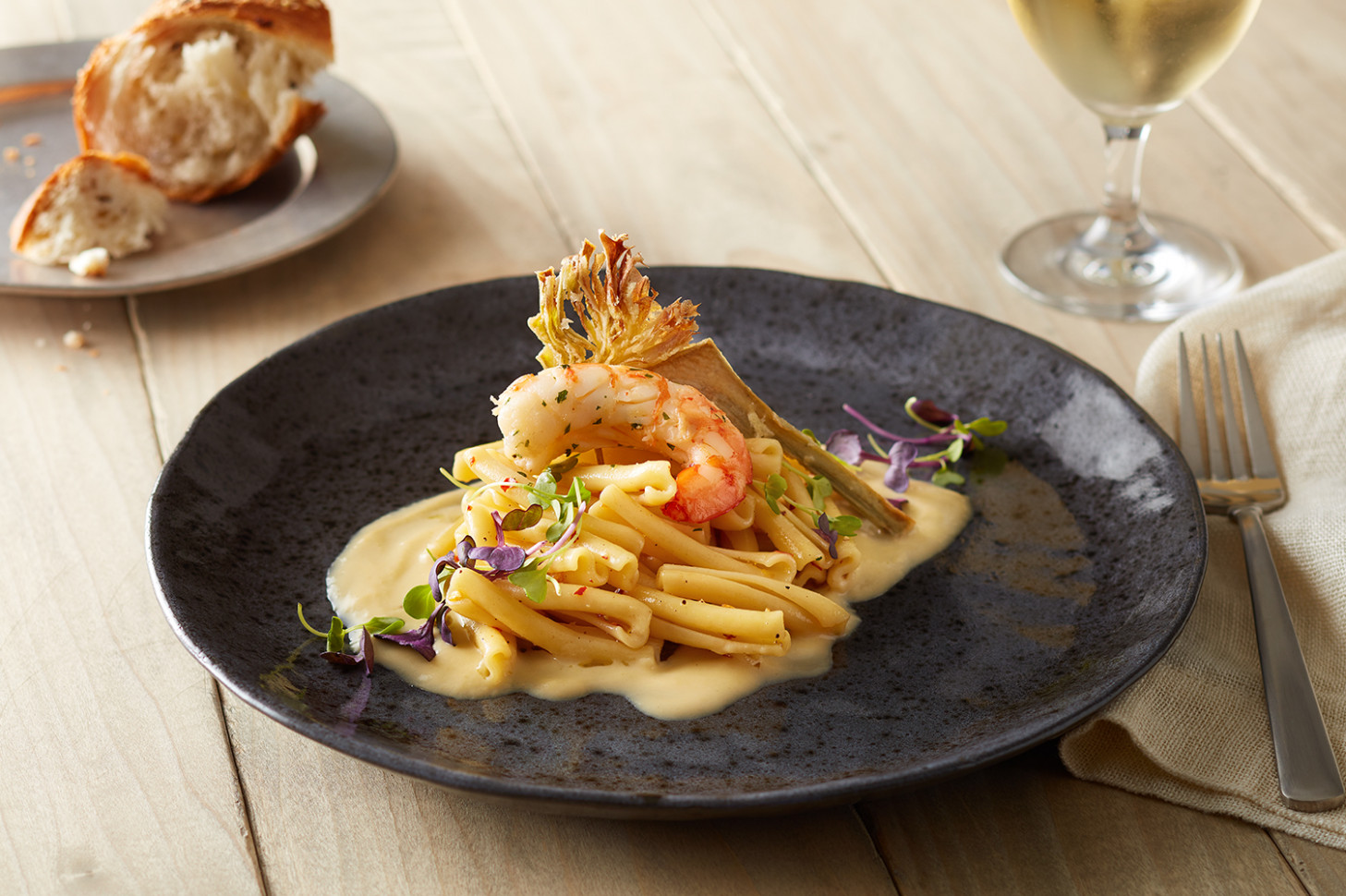 Casarecce with Artichokes and Langoustine | Barilla Pasta ...