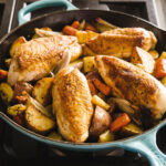 Cast Iron Pan Roasted Chicken Breasts With Root Vegetables …