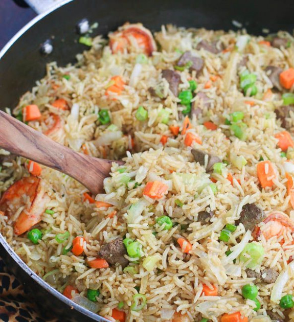 Check out Nigerian Fried Rice. It's so easy to make ...