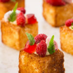 Cheesecake And Brioche Canapé Recipe – Great British Chefs