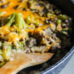 Cheesy Beef And Rice Broccoli Casserole – Lisa G Cooks