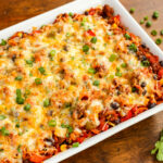 Cheesy Beef And Sweet Potato Taco Casserole | The Pioneer …