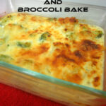 Cheesy Cauliflower And Broccoli Bake Casserole Recipe