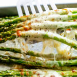 Cheesy Garlic Roasted Asparagus – Cafe Delites
