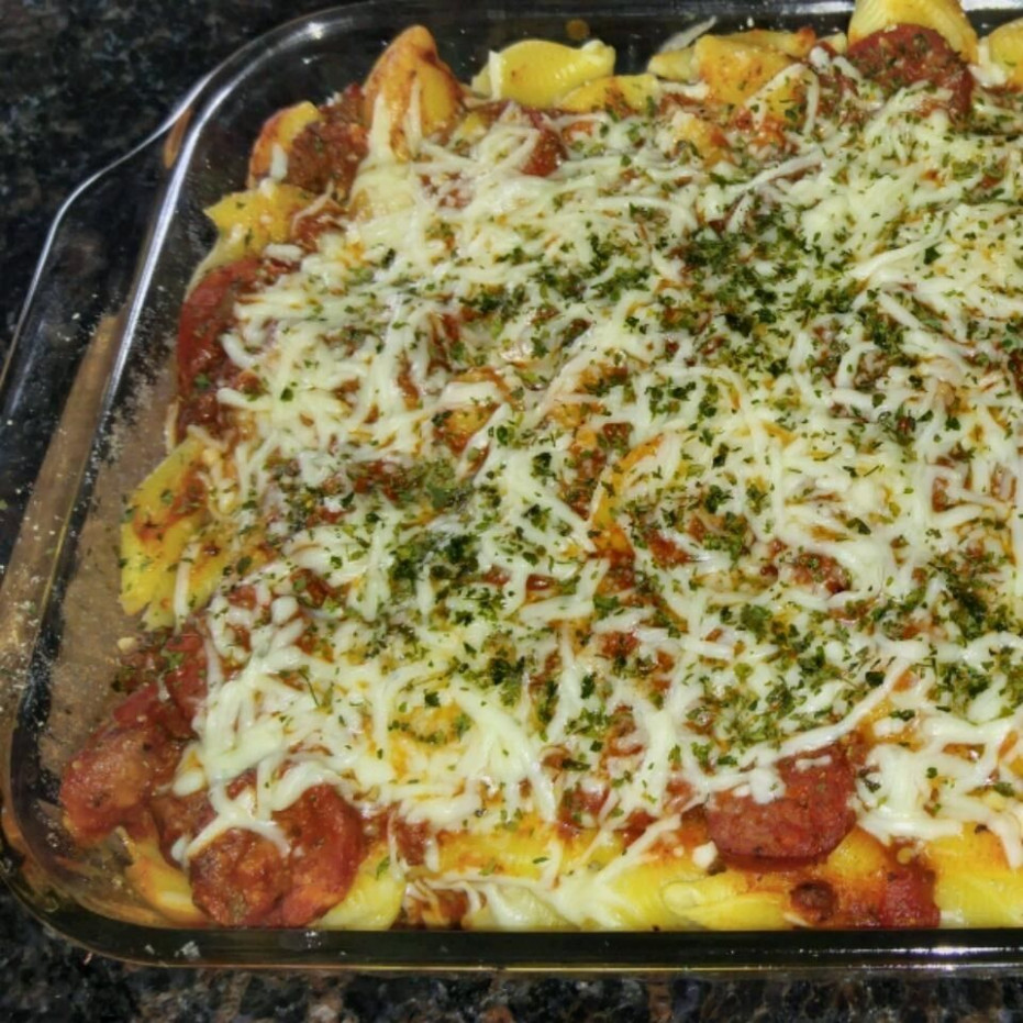Cheesy mince pasta bake recipe - All recipes UK