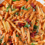 Cheesy Mozzarella Penne Rosa Pasta With Sun Dried Tomatoes …
