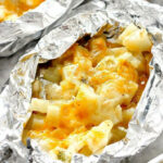 Cheesy Potatoes Foil Packs