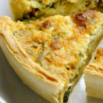 Cheesy Spinach And Bacon Quiche | What's For Breakfast? In …