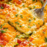 Cheesy Zucchini Casserole (Low Carb & Keto Friendly …