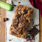 Cherry Chocolate Zucchini Bread