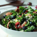 Cherry Summer Kale Salad With Balsamic Vinaigrette | Easy …