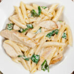 chicken alfredo recipes with penne pasta
