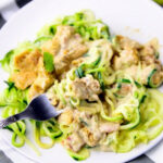 Chicken Alfredo With Zoodles – My Zucchini Recipes