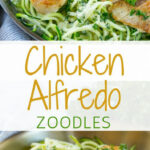 Chicken Alfredo Zoodles | Recipe | Getting Healthy …