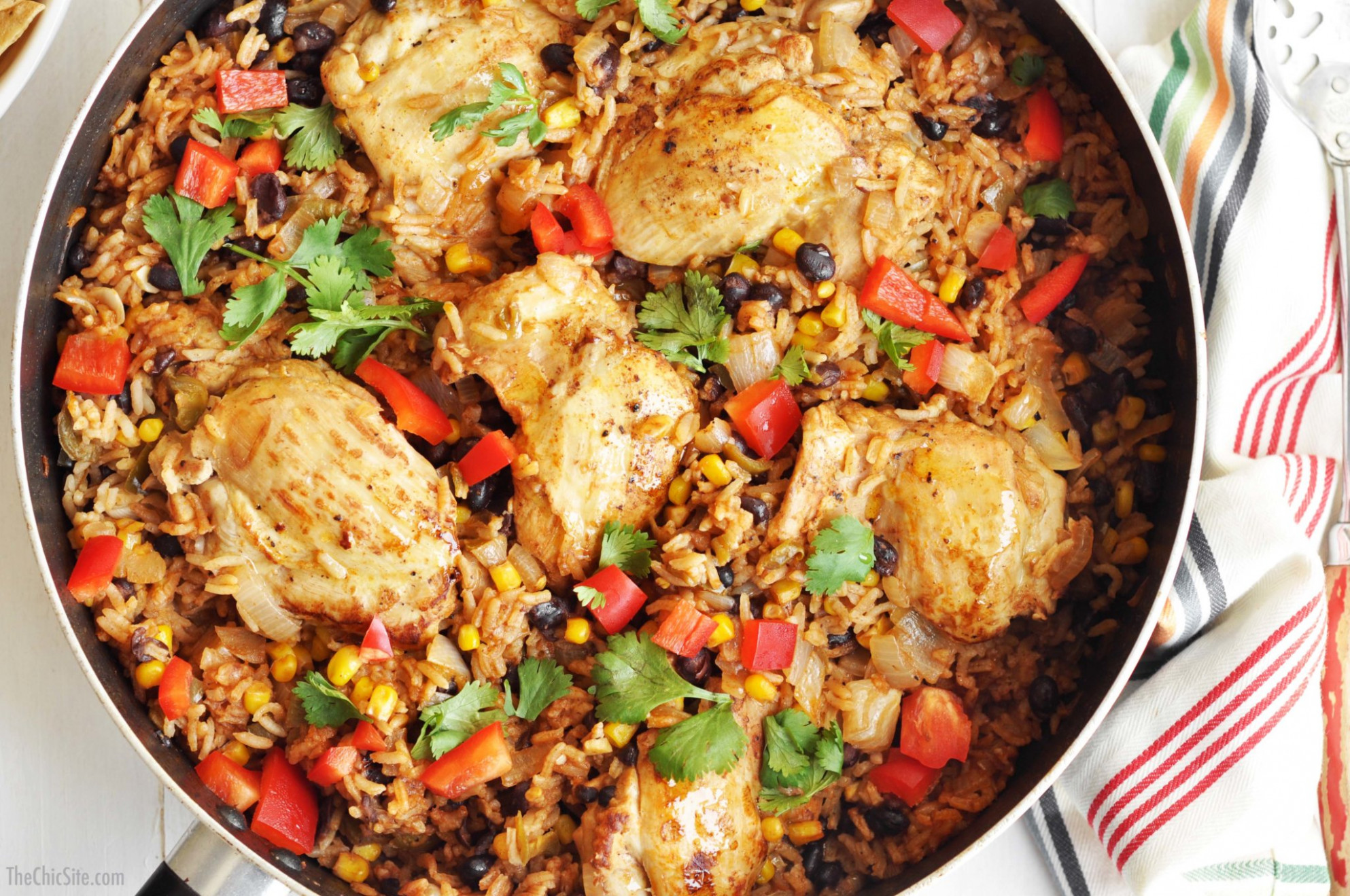 Chicken And Mexican Rice – The Chic Site