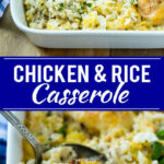 Chicken And Rice Casserole – Dinner At The Zoo