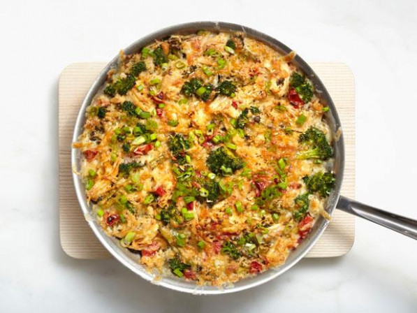 Chicken and Rice Casserole Recipe | Food Network Kitchen ...