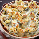Chicken and Spinach Pasta Bake Recipe