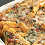 Chicken And Spinach Pasta Casserole | Six Sisters' Stuff