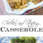 Chicken and Stuffing Casserole Recipe - The Kitchen Wife