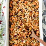 Chicken and Wild Rice Casserole with Butternut Squash