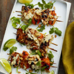 Chicken Apricot Skewers Recipe | Epicurious