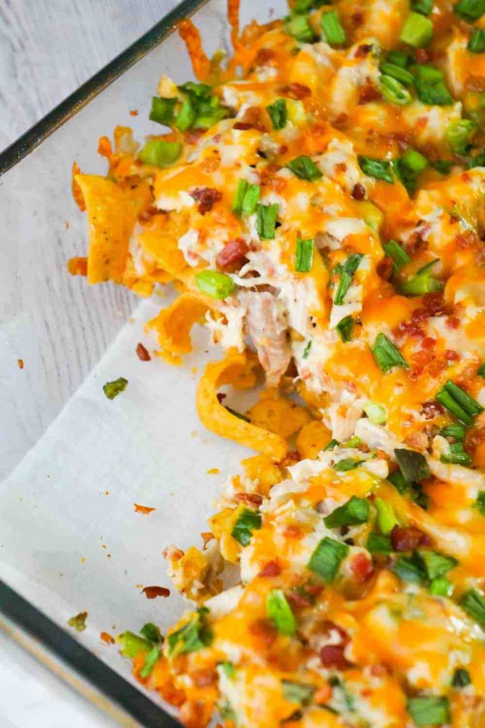 Chicken Bacon Ranch Frito Pie is a quick and easy dinner ...