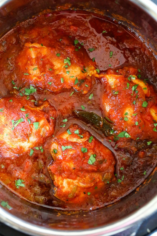 Chicken Cacciatore Recipe (Instant Pot)