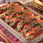 Chicken Cannelloni With Roasted Red Bell Pepper Sauce – 21 …