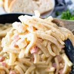 Chicken Cordon Bleu Skillet Noodles