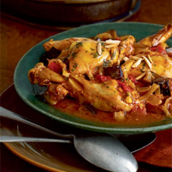 chicken eggplant tagine