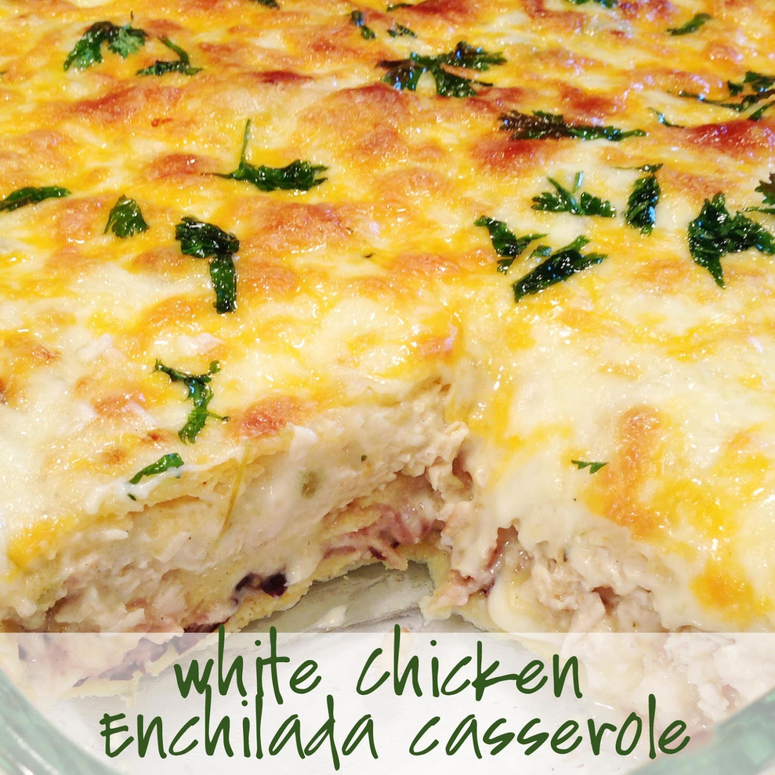 Chicken Enchilada Casserole Recipe — Dishmaps