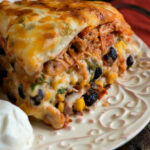 Chicken Enchiladas With White Sauce – A Family Feast®