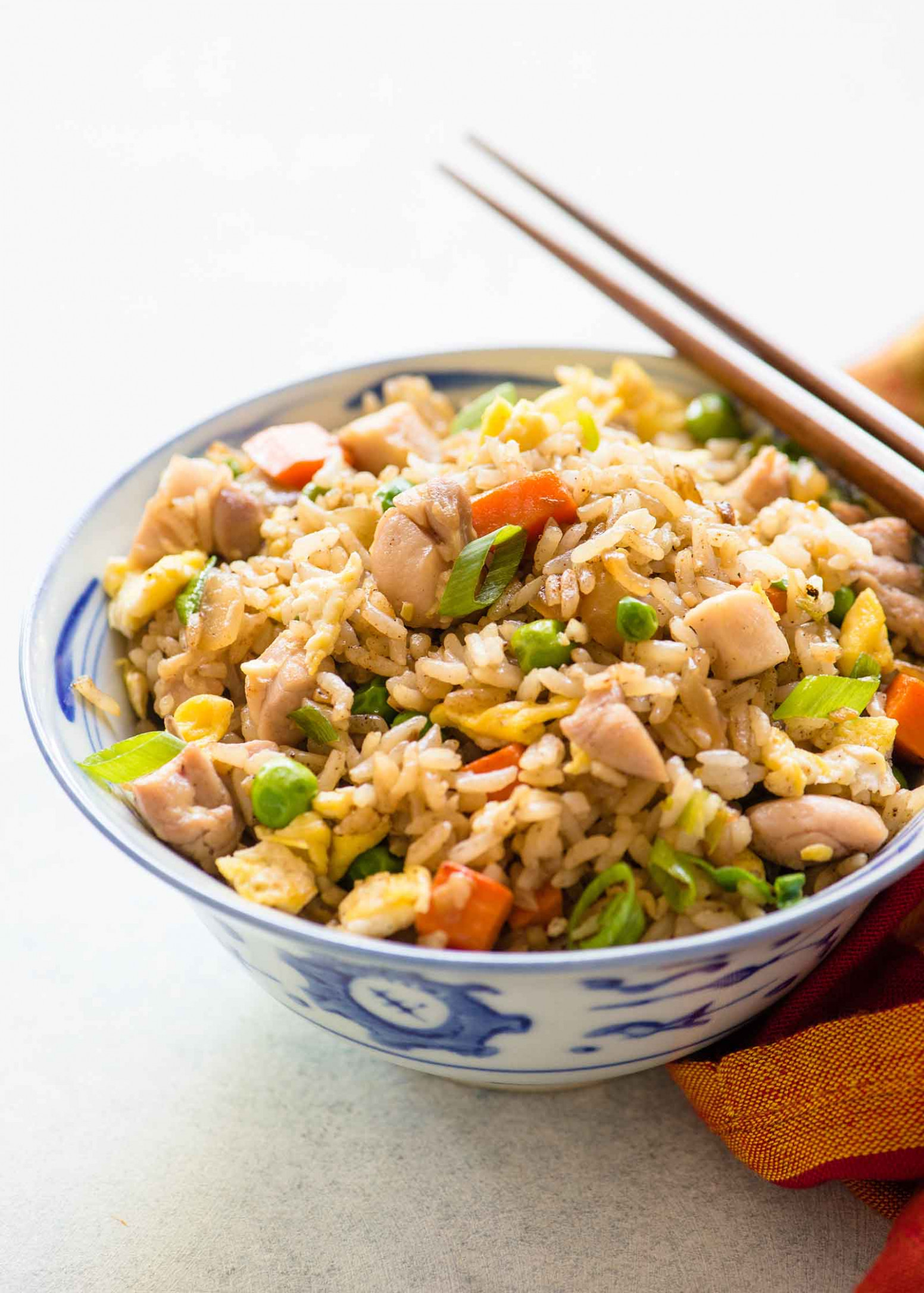 Chicken Fried Rice Recipe | SimplyRecipes