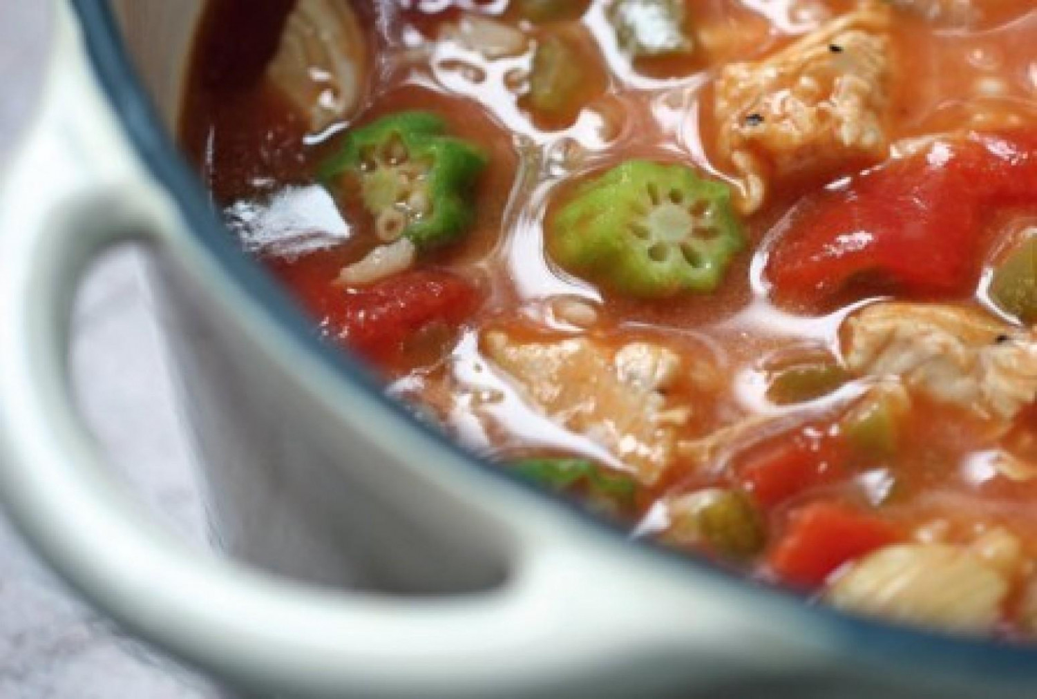 Chicken Gumbo Soup Recipe   Just A Pinch Recipes