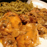 Chicken In Creamy Creole Sauce