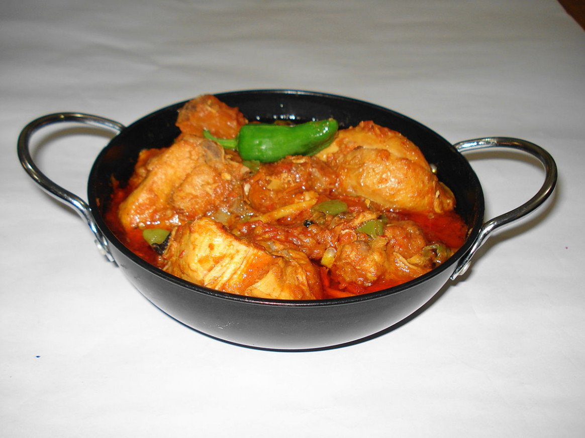 Chicken karahi - Wikipedia