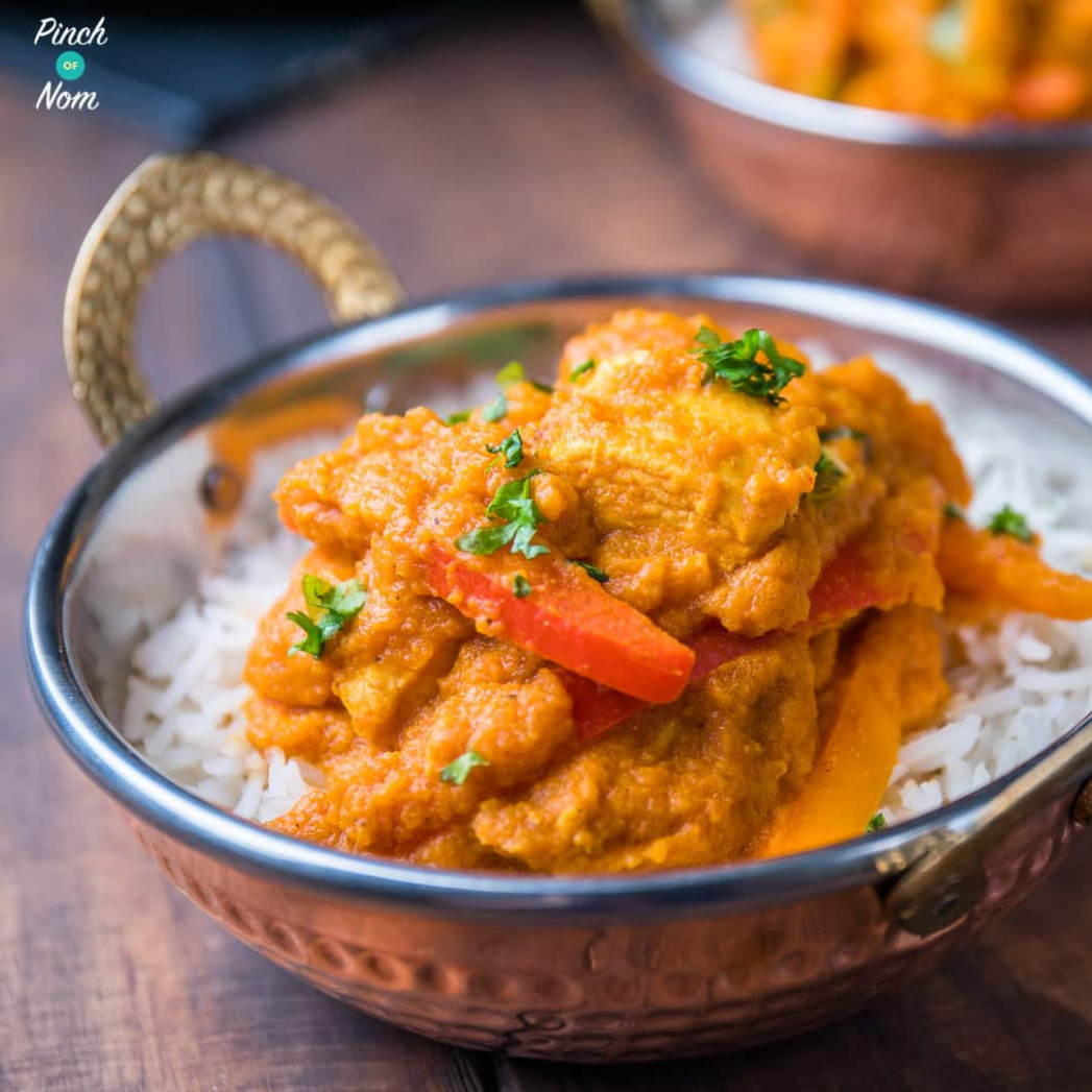 Chicken Korma Curry | Slimming & Weight Watchers Friendly ...