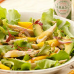 Chicken, Mango And Avocado Salad With A Tangy Green …