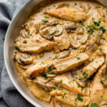 Chicken Marsala With Mustard & Mascarpone | Platings + Pairings