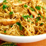 Chicken Noodles Recipe — Dishmaps