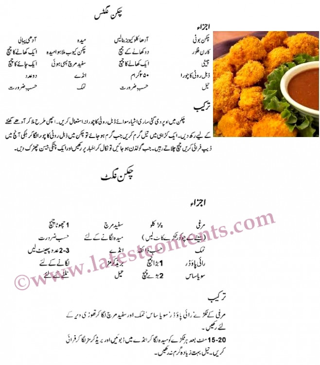 Chicken Nuggets چکن نگٹس- Easy Recipes in Urdu