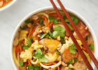 Chicken Pad Thai Zoodle Bowls | Recipe | Chicken Recipes ...