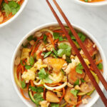Chicken Pad Thai Zoodle Bowls   Recipe   Chicken Recipes …
